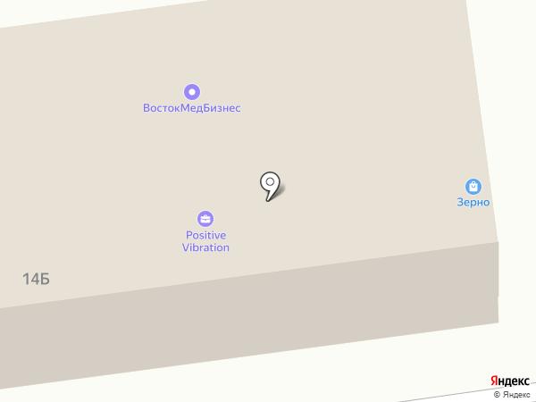 Полиграфическая фирма на карте Хабаровска