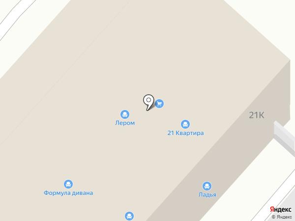 Дятьково на карте Хабаровска