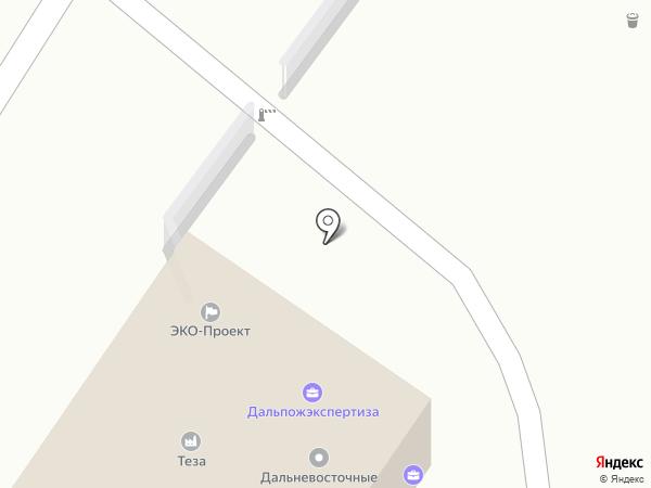 Успех-Аудит на карте Хабаровска