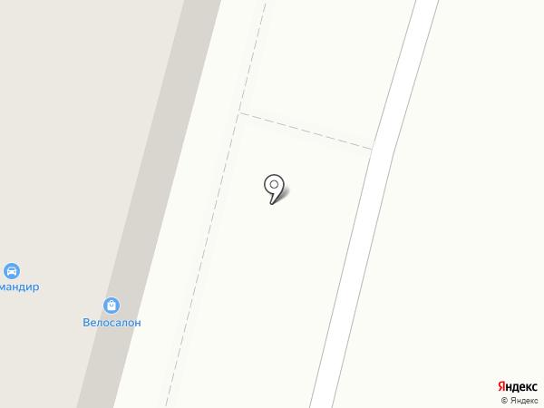 Велосалон на карте Хабаровска