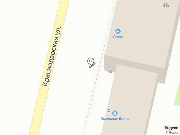 Автомойка на карте Хабаровска