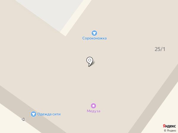 Южный Парк на карте Хабаровска