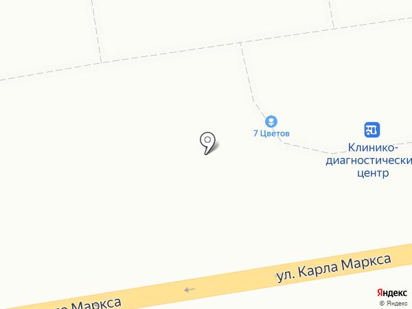7 цветов на карте Хабаровска