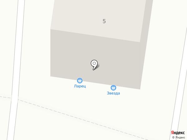 Ларец на карте Хабаровска