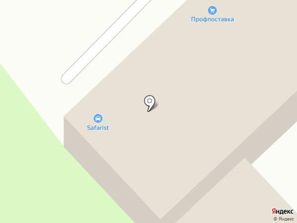 Nissan ДВ-АС на карте Хабаровска