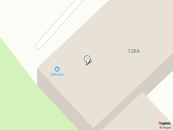 GTR на карте Хабаровска