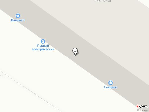 ПечатникЪ на карте Хабаровска