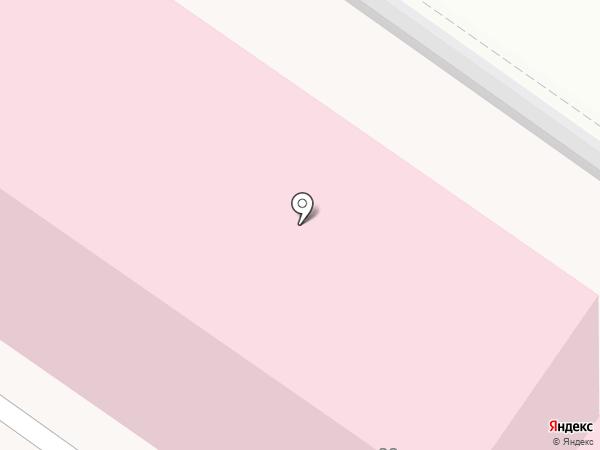 Даль-Росмед на карте Хабаровска