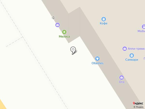 Седьмое Небо на карте Хабаровска