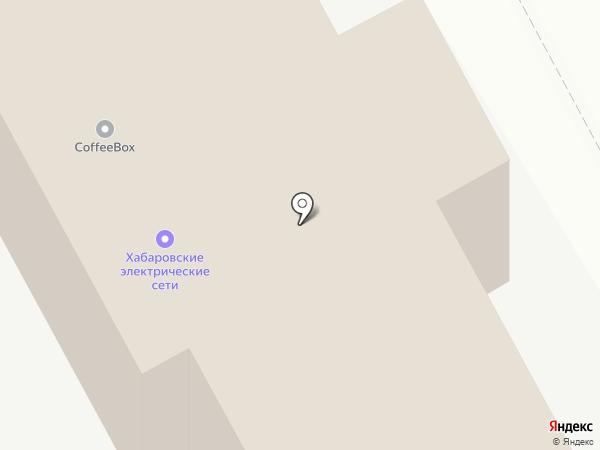 Хабаровские электрические сети на карте Хабаровска