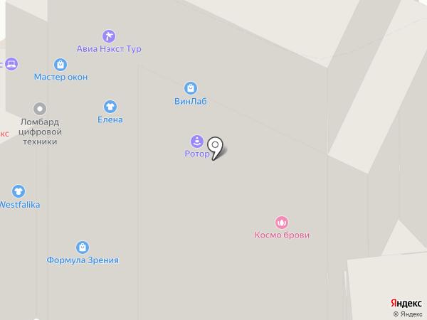 Домино на карте Хабаровска