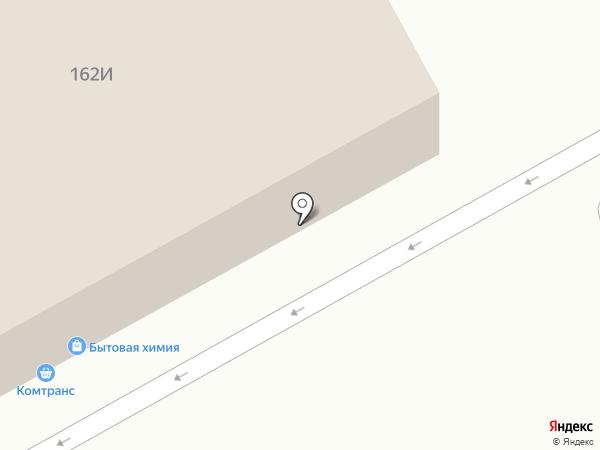 Автомаг на карте Хабаровска