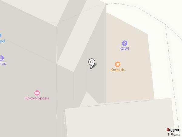 Копировальный центр на карте Хабаровска