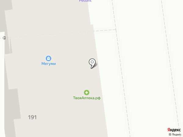 ЮНИЛАБ на карте Хабаровска