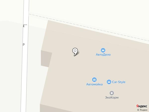 Локинг на карте Хабаровска