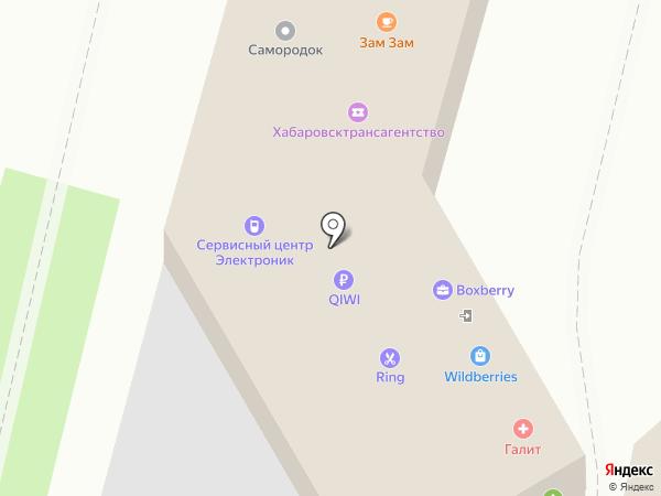 Queen Nails на карте Хабаровска