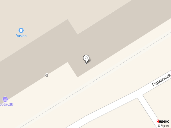 Салон бижутерии на карте Хабаровска