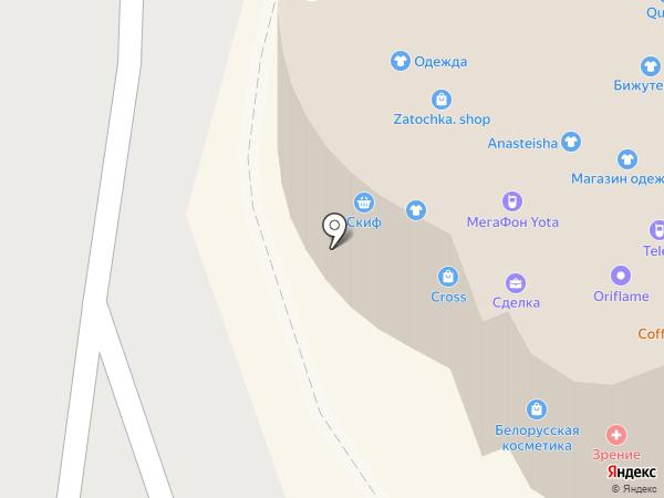 Новый Восток на карте Хабаровска