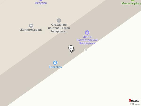 МЗК на карте Хабаровска