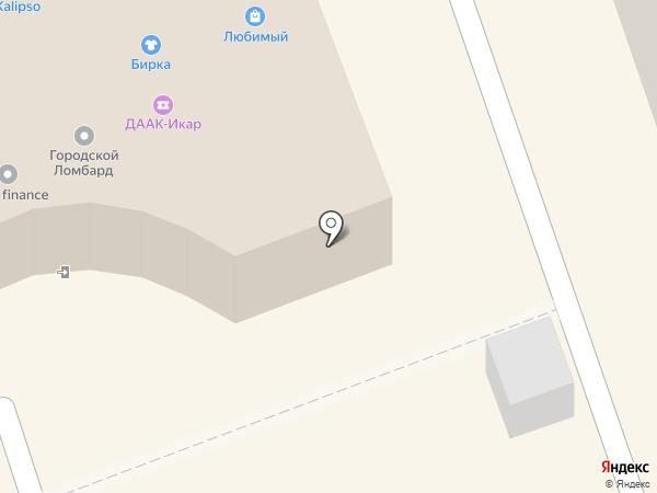 Салон мобильных телефонов на карте Хабаровска