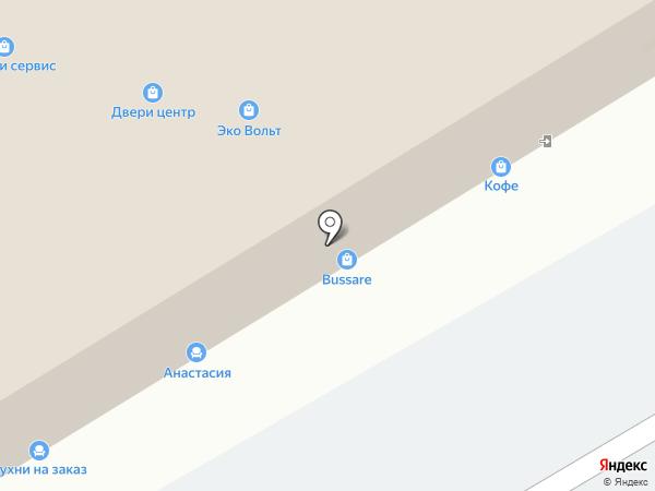 Владимирская фабрика дверей на карте Хабаровска