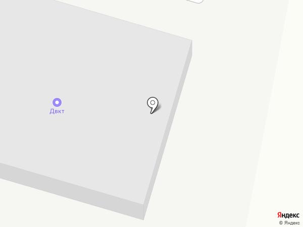 ДВКТ на карте Хабаровска