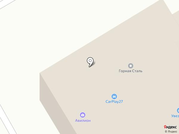 Мион-ДВ на карте Хабаровска