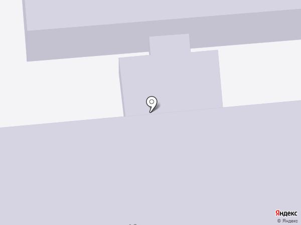 Детский дом №6 на карте Хабаровска