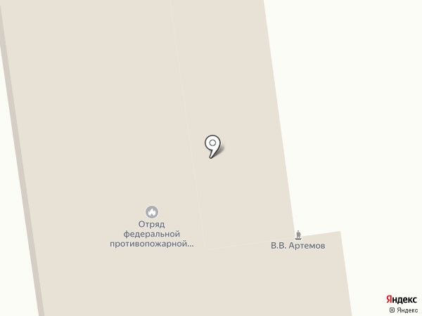 Пожарная часть №3 на карте Хабаровска