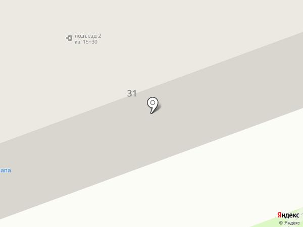 Веселый папа на карте Хабаровска