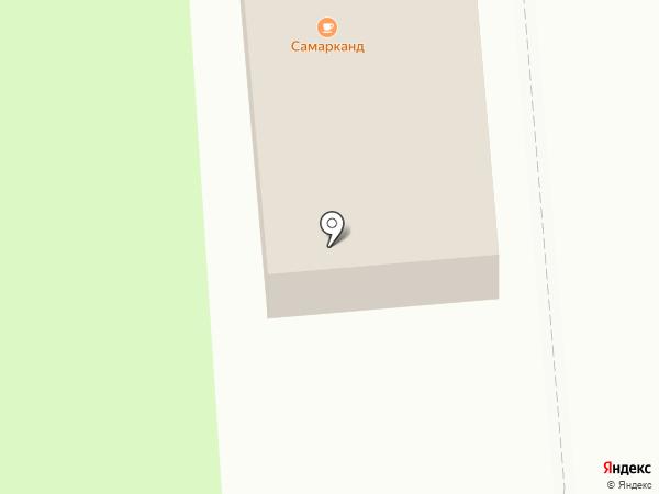 Босфор на карте Хабаровска