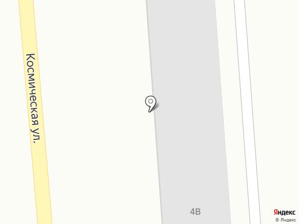 Азимут на карте Хабаровска