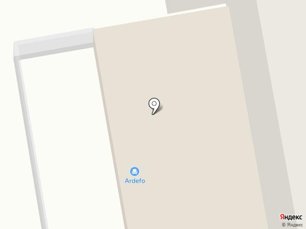 ADF на карте Хабаровска