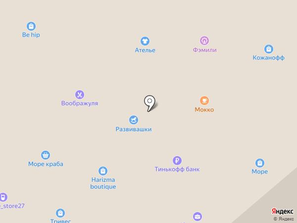 Питер на карте Хабаровска