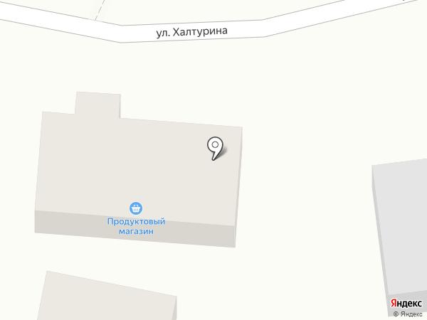 Хазар на карте Хабаровска