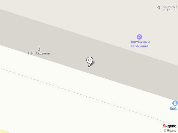 Мойдодыр на карте Хабаровска