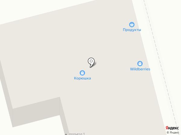 Галанд на карте Хабаровска
