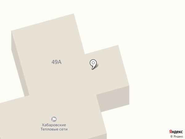 Хабаровская теплосетевая компания на карте Хабаровска