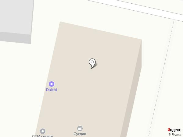 Ориент Машинери на карте Хабаровска