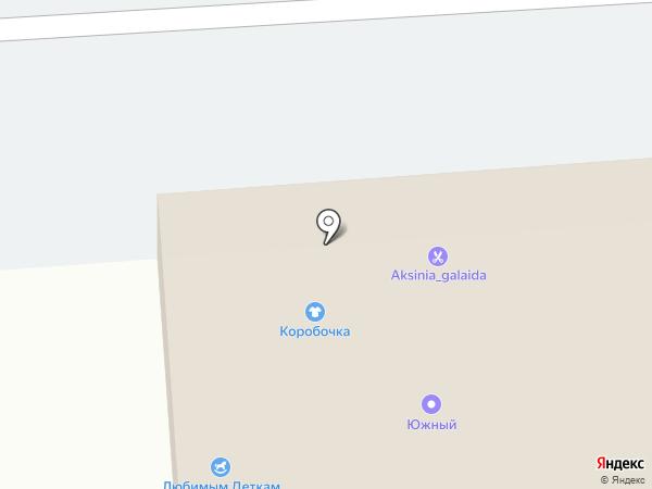 Стерх на карте Хабаровска