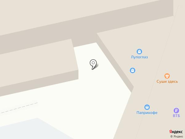 Айкрафт на карте Хабаровска