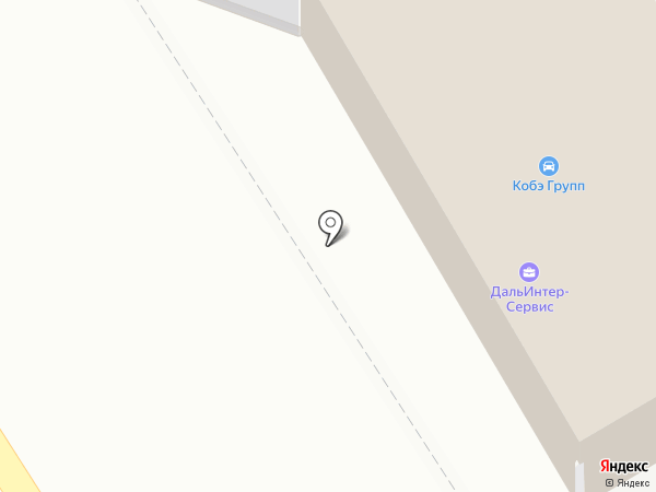 ДальИнтер-Сервис на карте Хабаровска