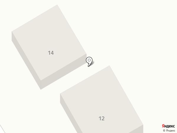 Астра на карте Хабаровска