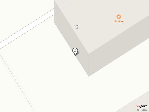 Си-лян на карте Хабаровска