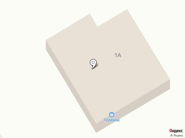 Теремок на карте Тополево