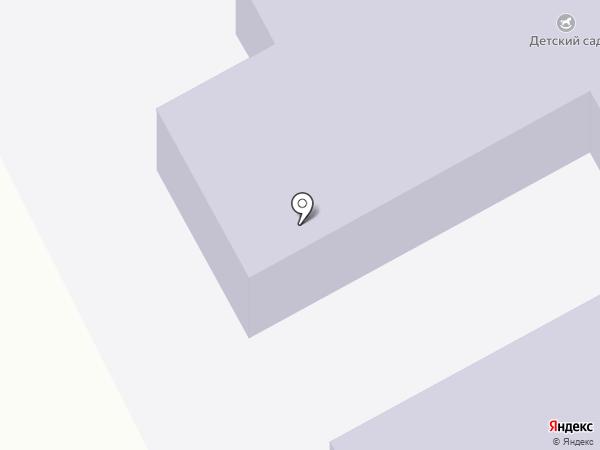 Детский сад на карте Тополево