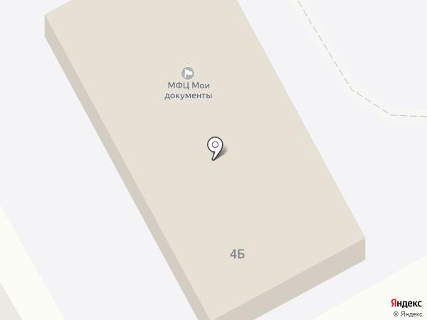 Районная больница №4 на карте Тополево