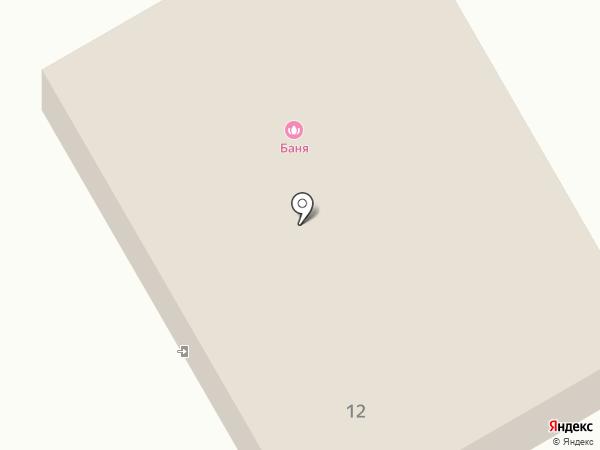 Тополевские бани на карте Тополево