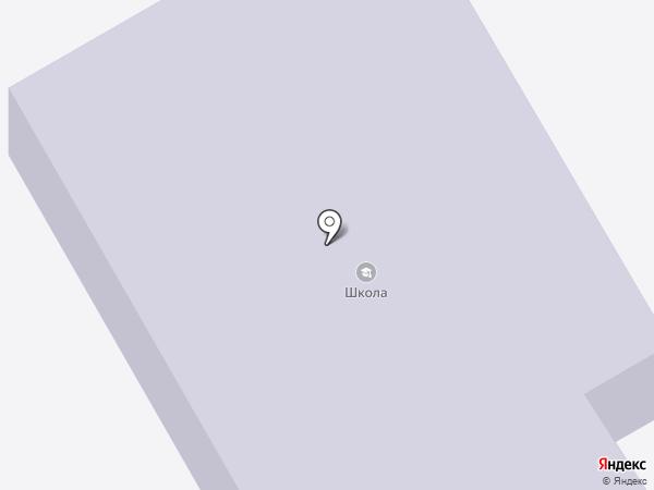 Средняя общеобразовательная школа на карте Тополево