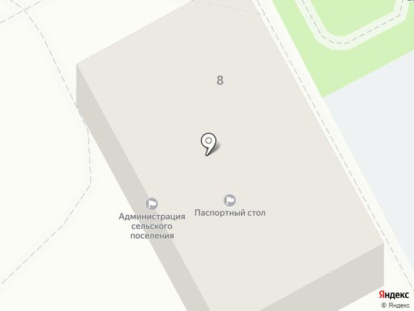 Библиотека Тополевского сельского поселения на карте Тополево